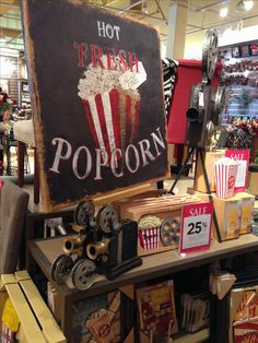 Future theatre room decor - Kirklands
