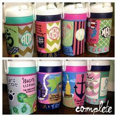 Water jug ideas!
