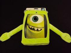 Monsters Inc. Fur Case for iPad 2, 3, 4 - Disney Pixar Monsters University #DisneyPixar