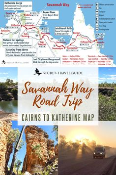 Australia's Northern Territory is a breathtaking scenery that stretches along the Western coastline. Gear up for an ultimate driving adventure holiday in Savannah Way, with 5 World Heritage sites and 15 national parks waiting to be explored. Travel Oz, Travel Maps, Travel Destinations, Australia Destinations, Trip Planning, Retirement Planning, Early Retirement, Retirement Quotes, Retirement Pictures