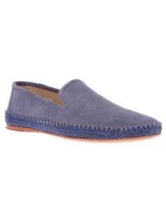 Paul Smith - laser cut slip on shoe