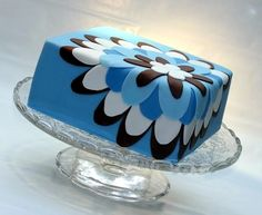 """big flower"" - one of cakecentral.com's most-saved cakes of 2011!"