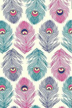pattern estampas, papel de parede wallpaper y papel de pa Cool Wallpaper, Pattern Wallpaper, Wallpaper Backgrounds, Iphone Wallpaper, Pink Wallpaper, Pattern Art, Pattern Design, Peacock Pattern, Nature Pattern