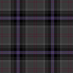 """Scottish Spirit"" Tartan designed by Pamela Robertson of Glasgow, Scotland. This tartan evokes the ruggedness of the hills and the purple heather of the Scottish Highlands."