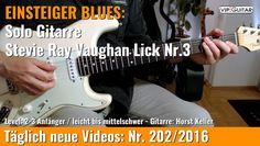 ✪ EINSTEIGER BLUES ►Stevie Ray Vaughan Lick Nr.3