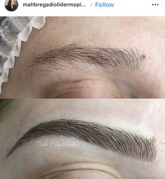 Mircoblading Eyebrows, Eyebrows Goals, Permanent Eyebrows, Permanent Makeup, Makeup Guide, Beauty Makeup Tips, Beauty Skin, Beauty Hacks, Eyebrow Makeup