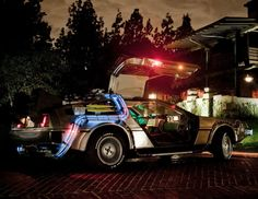 """""""Roads? Where we're going, we don't need roads"""" This #BackToTheFuture Theme Song Cover Will Brighten Up Your Day. Hit the pic to listen... #DeLorean"""