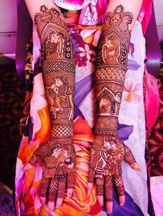 New and unique mehndi designs for the new age brides