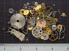 Steampunk Supplies Vintage watch parts by SteampunkArtSupplies, $19.95   #steampunk #artsupplies