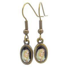 Great everyday earrings!Medal: enamelEar ...