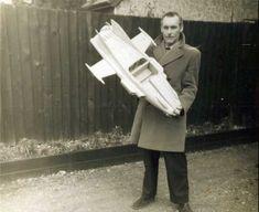 Bill James holding supercar