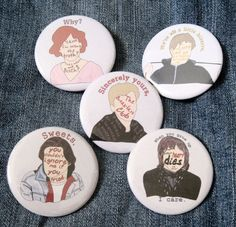 Breakfast Club Buttons 80s Pins Movies Pinback by SwellDameInk