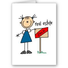 Real Estate Agent Card by stick_figures