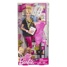 Barbie I Can Be Fashion Designer Doll. Girls can play the role of a fashion designer with this doll Featured in chic working outfit Mattel Barbie, New Barbie Dolls, Barbie Fashionista Dolls, Barbie Dress, Barbie And Ken, Barbie Stuff, Doll Stuff, Barbie Fashion Designer, Barbie Playsets