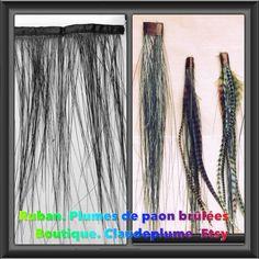 Le chouchou de ma boutique https://www.etsy.com/fr/listing/281837160/ruban-de-plumes-de-paon-brulees