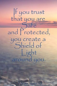 Surround yourself with light...