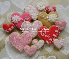 I heart these heart cookies!!