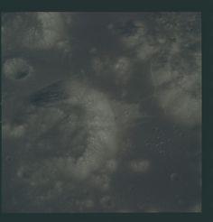 Apollo 17 Hasselblad image from film magazine 151/OO - Lunar orbit