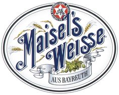 Maisel's Weisse Beer Label