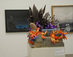 Savage Rose, Marian LeBrun and Andrew Provost. Bouquets to Art 2012 at the de Young Museum