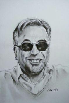 Portrait , pencil A4 #33domy