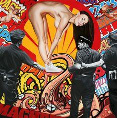 james rawson visualizes pop culture through painting + collage - designboom   architecture & design magazine http://www.designboom.com/art/james-rawson-visualizes-pop-culture-through-painting-collage-01-13-2014/
