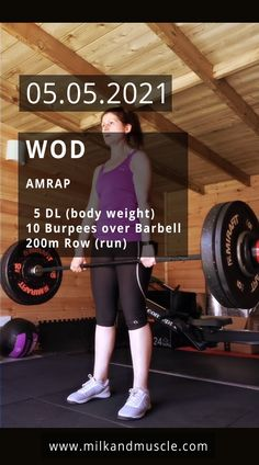 Crossfit Workouts For Beginners, Gym For Beginners, Crossfit Workouts At Home, Rowing Workout, Wod Workout, Fat To Fit, Weight Training, Workout Videos, Body Build