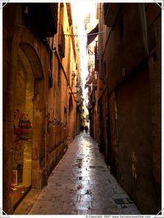 Barrio Gotico - The Gothic area of Barcelona, Spain by eva.ritz