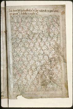 Amiens - BM - ms. 0108, f. 253v-254 Bible en images / Jugement dernier