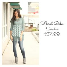 I am in love with the color of our new Fall sweater!! #fashion #shop #newarrivals #sweater #fallfashion #denim #jeans #boots #booties #style #boho #chic #musthave #fashionista #ogden #northogden #love #l4l #utah #shopbellame