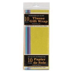 Pastel Tissue Paper Sheets, Assorted 10ct | The Gift Market