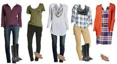 9.1 Mix & Match Fashion - Target Fall Styles 6-10