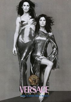 Cindy and Stephanie for Versace, by Richard Avedon, 1994