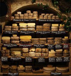 Les tommes de Savoie (La maison du fromage)