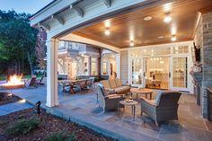 Shingle Style Lakeside Cottage Mansion | iDesignArch | Interior Design, Architecture & Interior Decorating eMagazine
