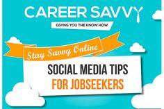 Infográfico traz dicas de mídias sociais para quem está procurando emprego - Blue Bus