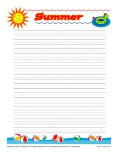 Lined Papers Free Printable Lined Paper Handwriting Paper Template  Writing .