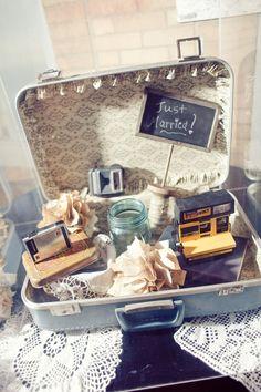 Cameras, suitcases, & stuff