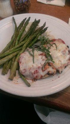 Chicken parmasean. Chef Jimmy's Bistro, DEN, Denver, CO. 7*