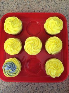 Funfetti Cupcakes w/ Lemon Buttercream