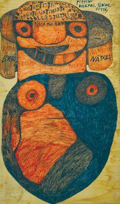 The late-flowering work of Sicilian artist Giovanni Bosco Graphic Design Art, Folk Art, Tribal Art, Art Music, Naive Art, Intuitive Art, Outsider Artists, Contemporary Folk Art, Outsider Art