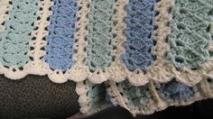 Mile a Minute afghan for a boy