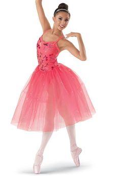 Weissman™ | Sequin Satin Floral Tulle Dress
