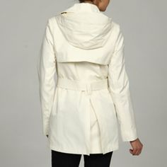 $80.99 trench coat with hood!