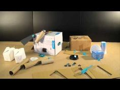 DESIGNER: Paul Justin Makedo is a reusable connector system that enables construction using everyday materials including cardboard, plastic and fabric to cre. Wind Machine, Block Center, Reggio, Inventions, Science, Education, Games, Youtube, Kids