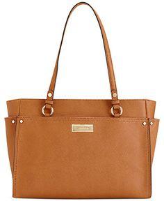 Calvin Klein Key Items Saffiano Tote - Handbags & Accessories - Macy's