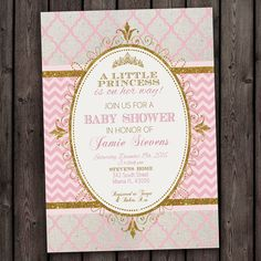 customized fast baby shower invitation fast by AmysSimpleDesigns