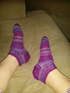 Mitt første sokkepar, beholdt de selv