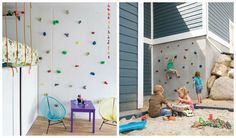 How awesome is to have a climbing wall in your home? Climbing wall is every child dream. If you want to make something interesting for your kids room then