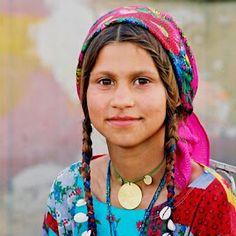 ROMA GIRL IN ROMANIA